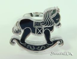 Mirror Rocking Horse Ring by SweetandCo