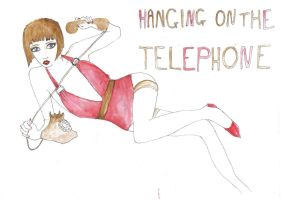 hanging on the telephone by selfhaircuts