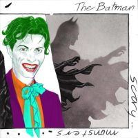 TLIID Scary Monsters Super Creeps Joker and Batman by Nick-Perks