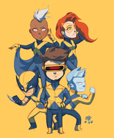 x-men by samuraiblack