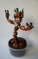 LEGO Groot by Sparkytron