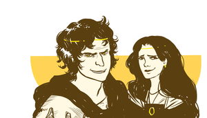 aSoIaF young Martells by jubah