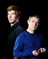 Benedict and Martin by DanglingThpider