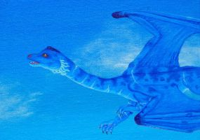 Blue dragon male -detail by BlueWingedCoyote