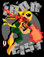 IRON FIST STRIKES by CHUCKAMOKK