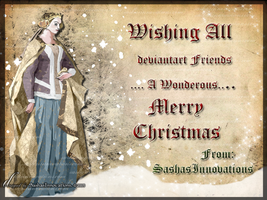Medieval Merry Christmas Card by SashaGeorge