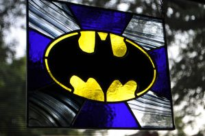 Batman logo variation 2 by joemakesglass