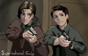 Supernatural: Family by bribble