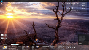 My Ideal Win 8 Concept by OsmosisChing