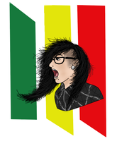 Skrillex by Late-Night-Cannibals