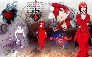 Madame Red wallpaper by Ishily