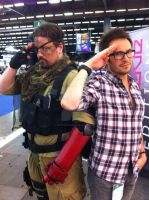 punished snake cosplay at JapanExpo/ComicCon Paris by M4n1nm1rr0r