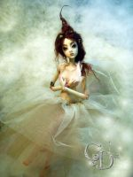 Ball jointed art doll D by cdlitestudio