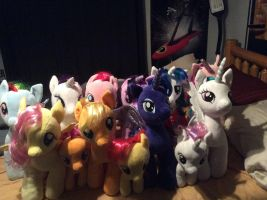 My Build-a-Bear MLP Collection by Psyko6669