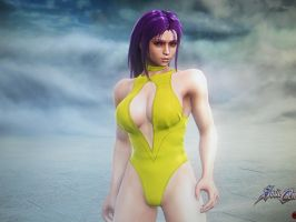 Helena's Swimsuit (Front 1) by Firedawn4