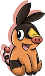 Tepig by Hazeloop