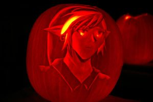Link pumpkin by medli96