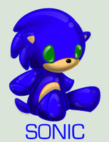 Plushie Collection: Sonic by WingedHippocampus