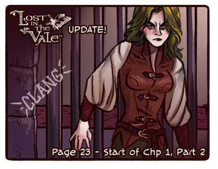 Lost in the Vale - Chapter 1 - Page 23 UP! by CrystalCurtisArt