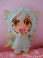 Monster Girl Quest: Sylph plushie by VioletLunchell