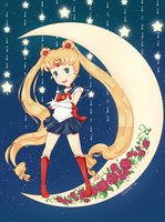 Sailor Moon by dollfie-chan