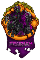 Feuriah Badge by WeirdHyenas