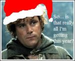 Merry Christmas:Samwise Gamgee by SoulAgainstSoul