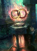 Rings of Bright Hearth by fooyee