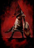 Pyramid Head by TheRyuOG