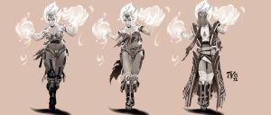 Female Mage Concept by TV-TonyVargas
