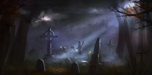 The Grave Digger by dustycrosley