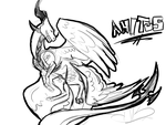 CM Sketch: Amitus by Fyre-feathers