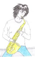 Sax with L in color by MafiaPrincess0
