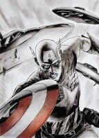 Captain America by MPaolillo