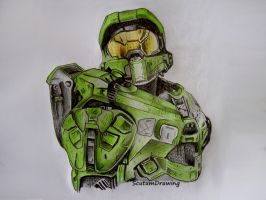 Master Chief - Halo 5 Guardians by Scutum20