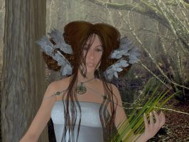 Dryad of the Woods by Erevia