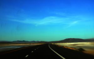 Crossing Country The Highway by myrnajacobs