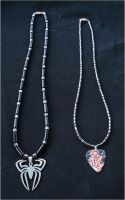 Spiderman Necklaces by RebelATS