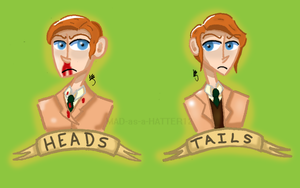 [Bioshock] Heads... Or Tails? by MAD-as-a-HATTER12