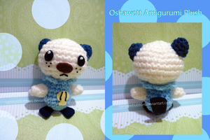 Oshawott Amigurumi Plush by Rainbowbubbles