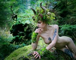 Faun III by PorcelainPoet