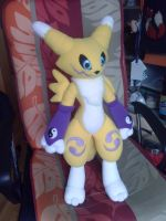 Renamon Plush! by Mancoin