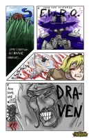 League of Draven entry by Kuromajinten