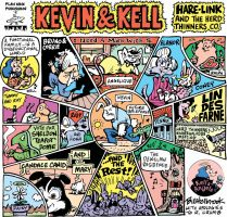 Kevin and Kell R. Crumb parody by BHolbrook