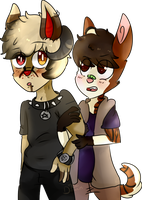 Your only mine by Damian-Fluffy-Doge