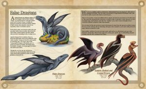 False Dragons- A Natural History of the Fantastic by Christopher-Stoll