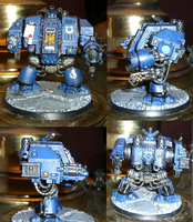 Space Marines Dreadnought by jstncloud