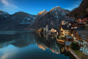 Hallstat Morning by porbital