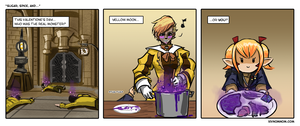 FFXIV Comic: Sugar, Spice, and... by bchart