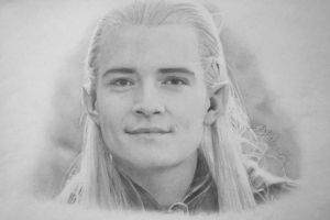 Legolas LOTR pencil by push-pulse